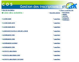 Application intranet Cos de Saint-Nazaire