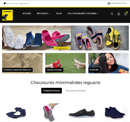 Boutique e-commerce Leguano