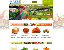 Boutique e-commerce Madis-drive